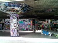 South bank skate/graffiti park